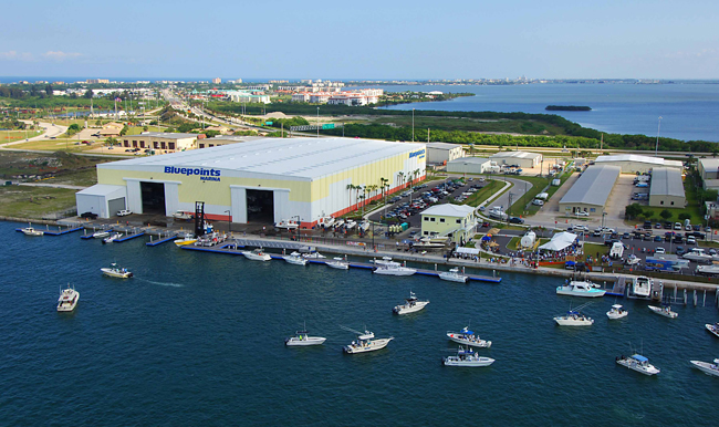 Bluepoints Marina in Port Canaveral