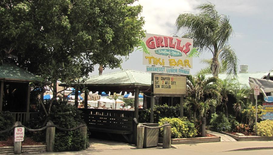 Grills seafood deck and tiki bar visit the cove port canaveral - Grills seafood deck tiki bar ...