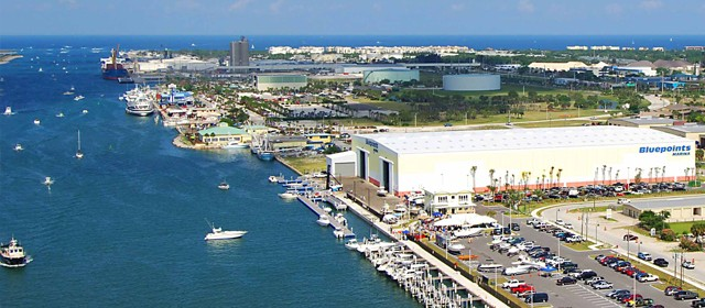 Marinas in Port Canaveral- Bluepoints Marina