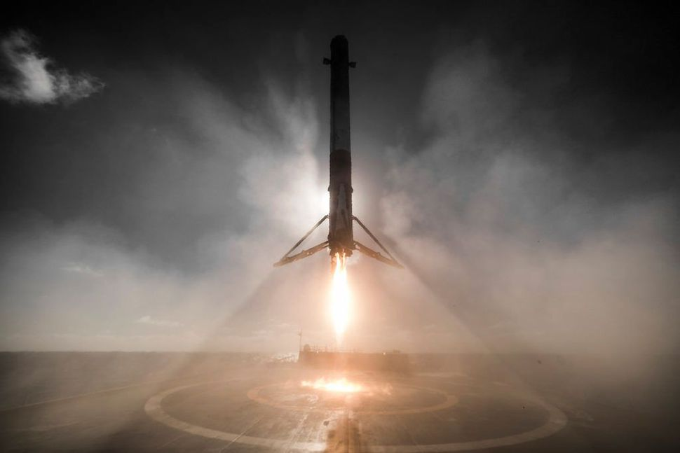 Rocket Launch- Falcon 9 on February 8
