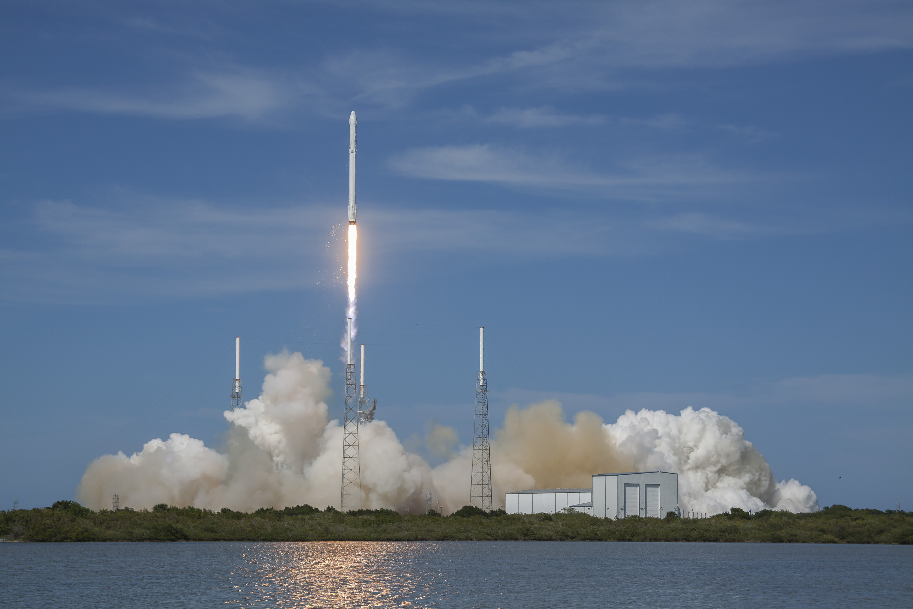 Watch Falcon 9 Take Off at Exploration Tower