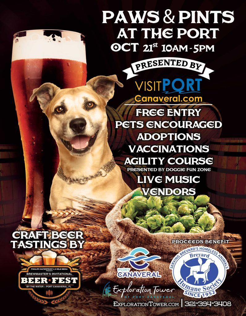 Paws & Pints in Port Canaveral