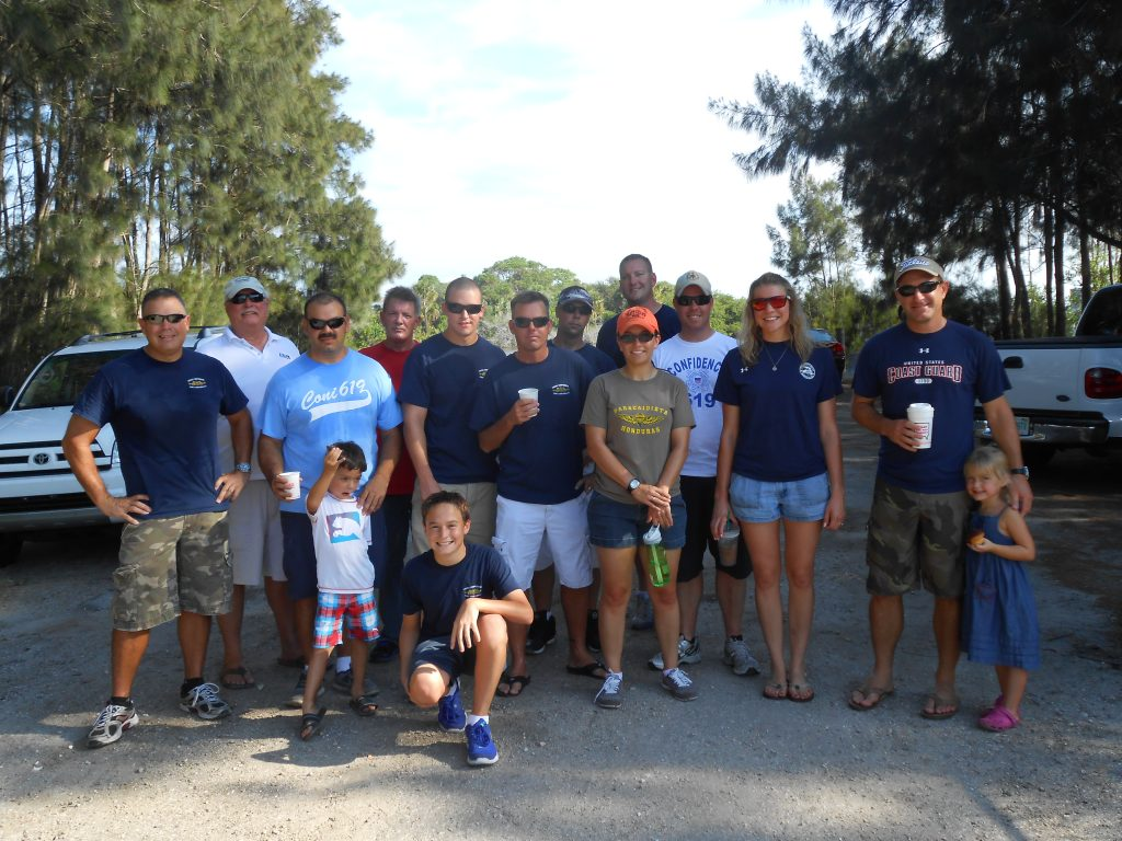 Propeller Club Port Canaveral and Keep Brevard Beautiful Adopt-a-Shore Cleanup