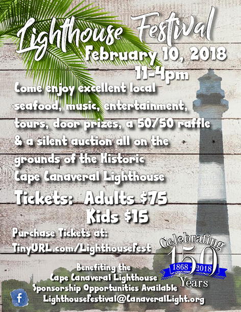 Cape Canaveral Light House Celebration