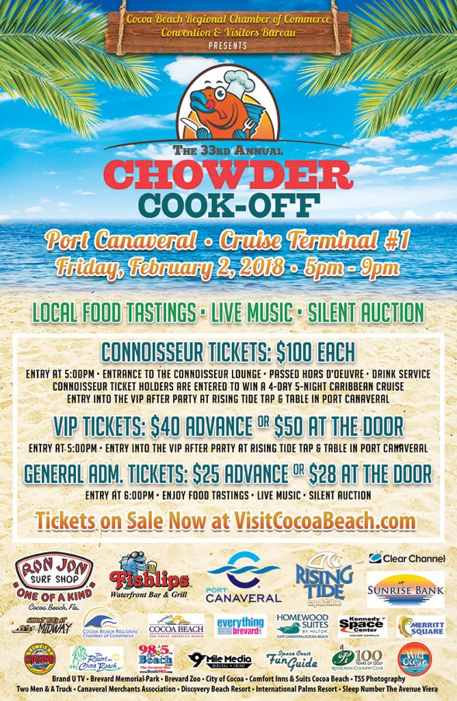 33rd Annual Chowder Cook-Off