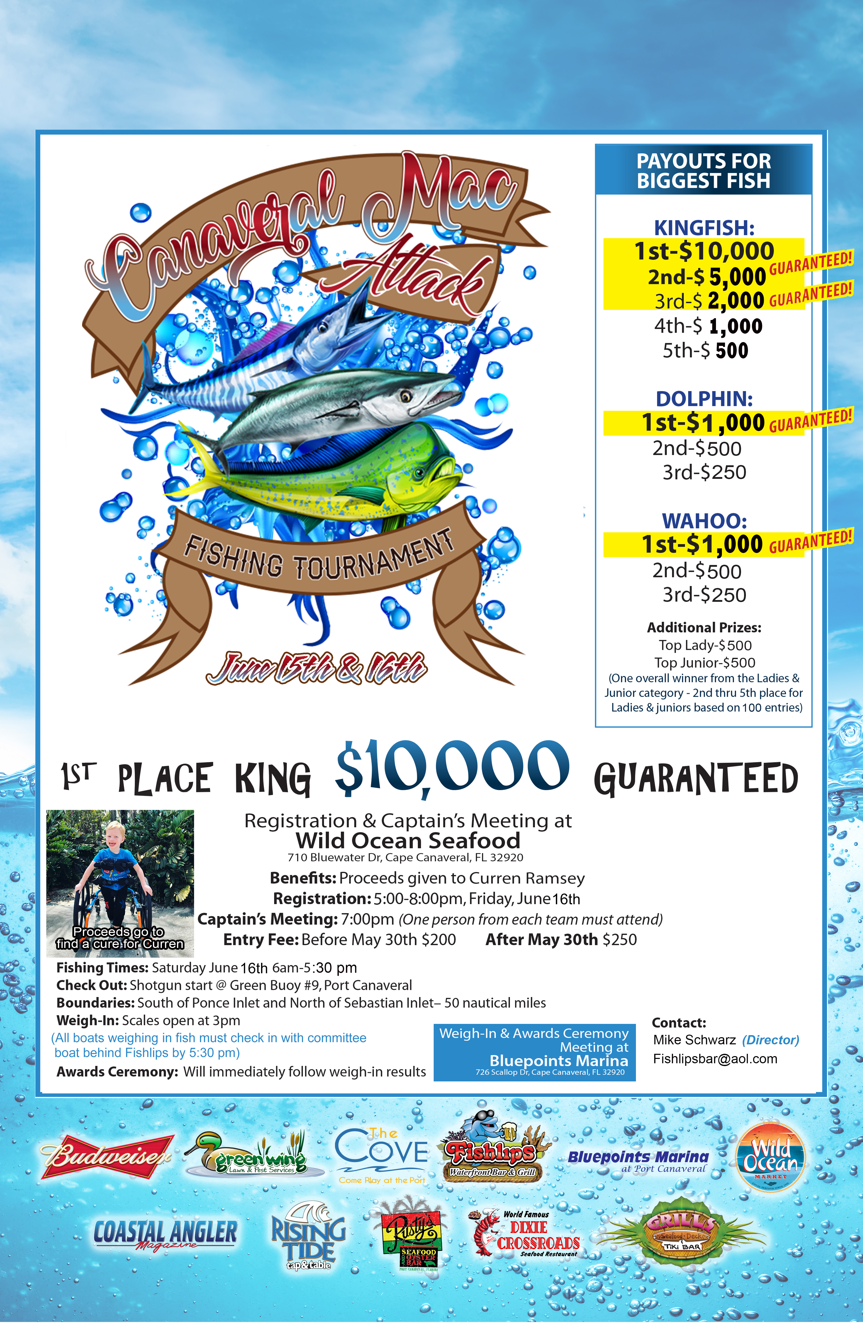 Canaveral Mac Attack Fishing Tournament Port Canaveral