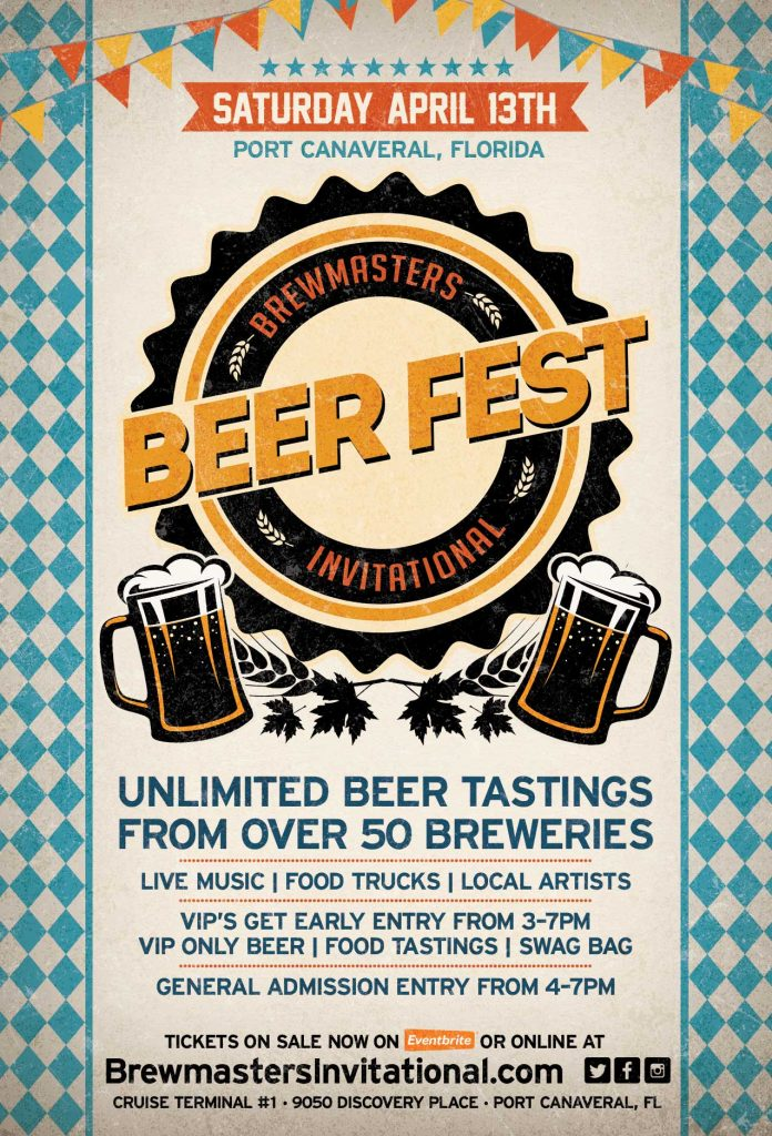 Brewmasters Invitational Beer Fest in Port Canaveral April 13, 2019
