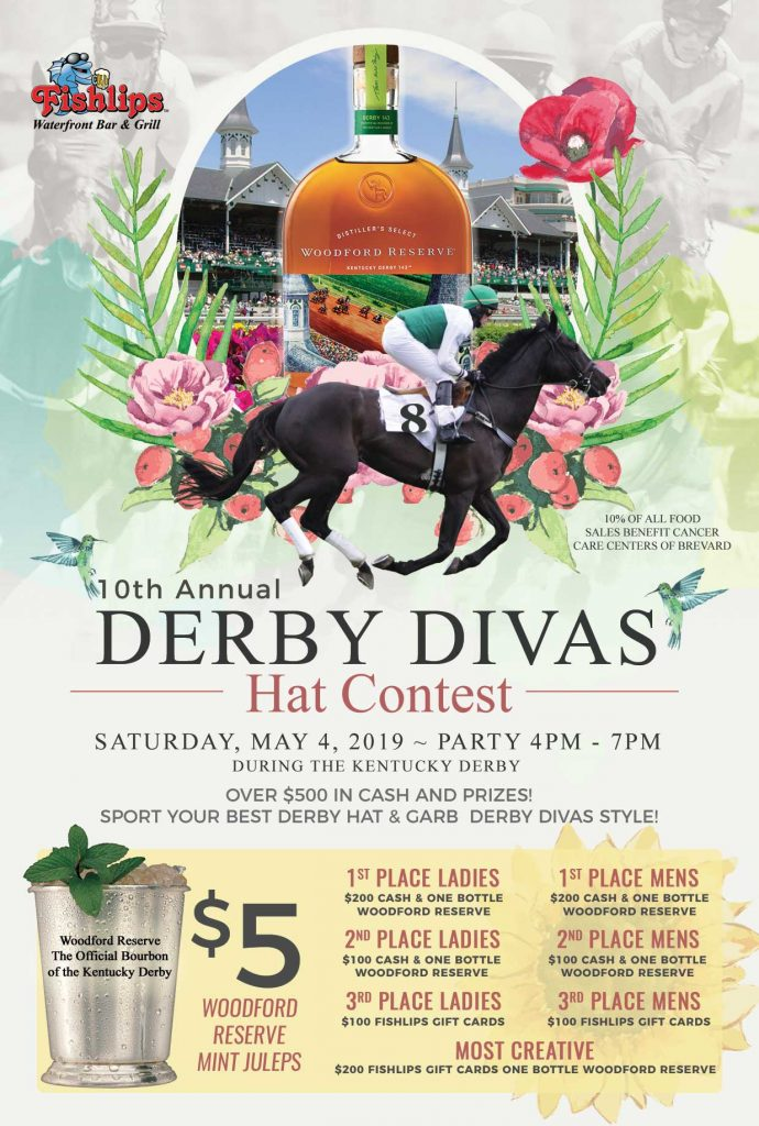 Derby Divas Hat Contest Fishlips Port Canaveral