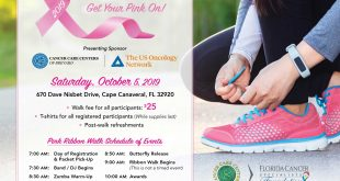 Annual Port Canaveral Pink Ribbon Walk
